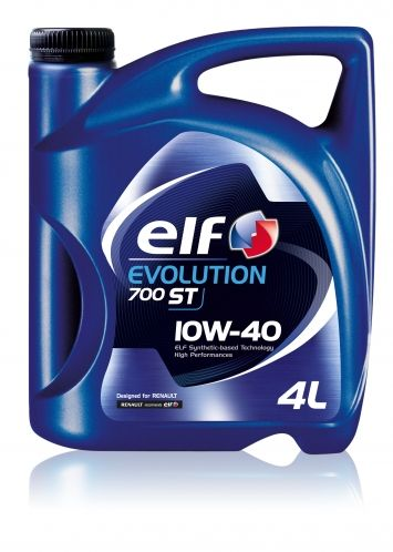 Ulei Elf Evolution 700 ST 10W40 (vechea denumire ELF Competition ST 10W40) - 4L