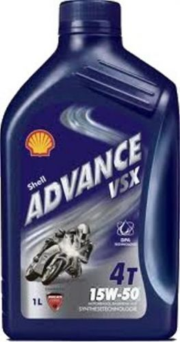 SHELL ADVANCE VSX 4 15W50 - 1L