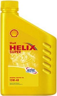 SHELL HELIX SUPER 15W40 -1L