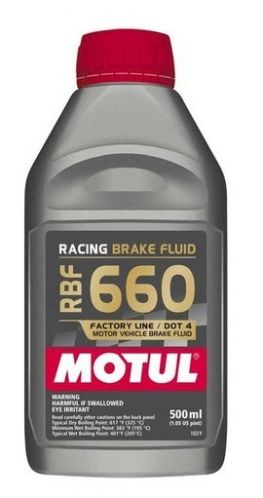 MOTUL RBF 660 Factory Line Brake Fluid - 0.5L