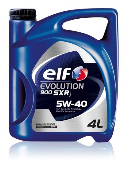 Ulei Elf Evolution 900 SXR 5W40 (vechea denumire ELF Evolution SXR 5W40) - 4L