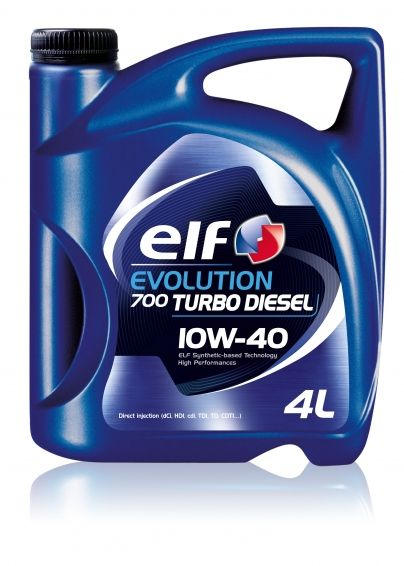 Ulei ELF Evolution 700 Turbo Diesel (vechea denumire Turbo Diesel) 10W40 - 4L