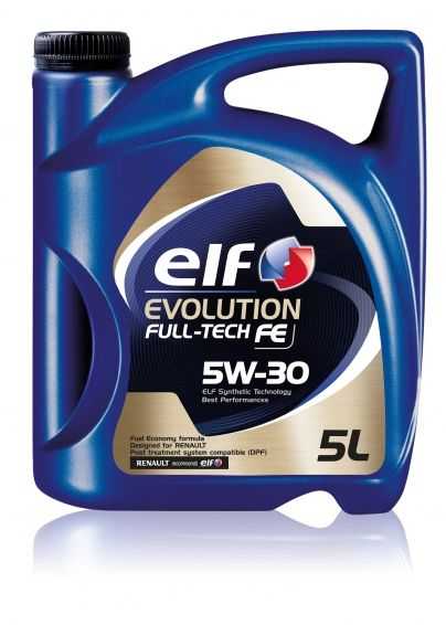 Ulei 5W30 ELF Evolution Full Tech FE DPF (Solaris FE) - 5L