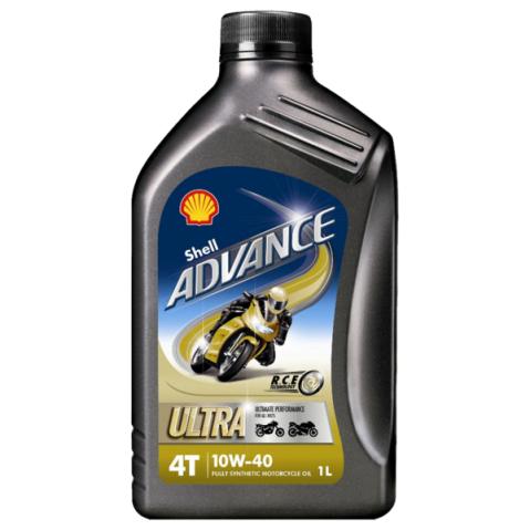 SHELL ADVANCE ULTRA 4 10W40 - 1L