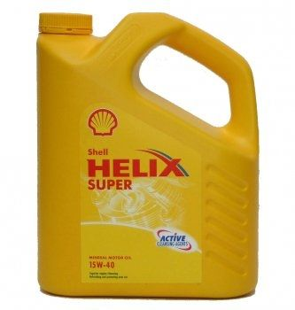 SHELL HELIX SUPER 15W40 -4L