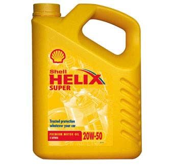 SHELL HELIX SUPER 20W50 - 4L