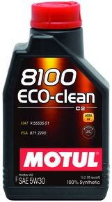 MOTUL  8100 Eco-clean 5W30 C2 - 1L