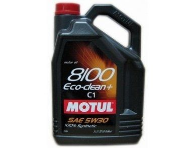 MOTUL 8100 Eco-clean+  5W30 C1 - 5L