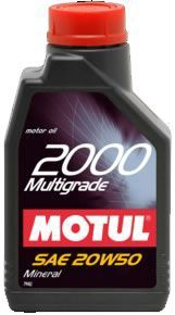 MOTUL 2000 Multigrade 20W50 - 1L
