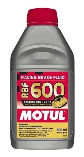 MOTUL  RBF 600 Factory Line Brake Fluid - 0.5L