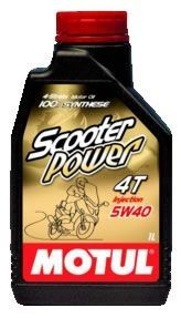 MOTUL SCOOTER POWER 4T 5W40 - 1L