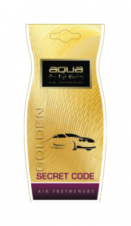 AQUA DROPS GOLDEN SECRECT CODE