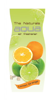 AQUA DROPS NATURALS FRUITS LEMON ORANGE